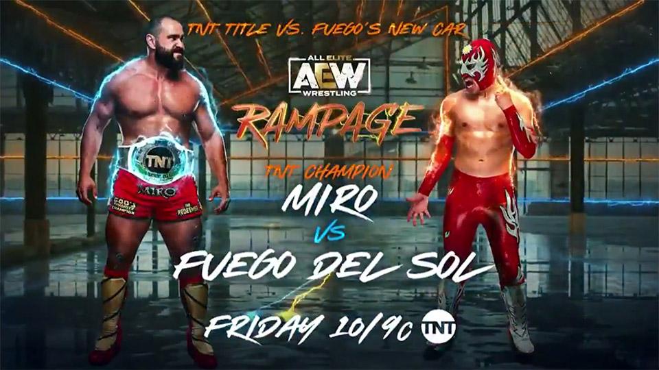 Dois Titles Matches em destaque no Rampage - Wrestling PT