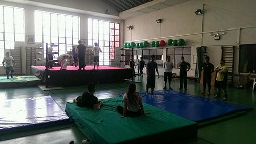O treino do passado sábado em Queluz
