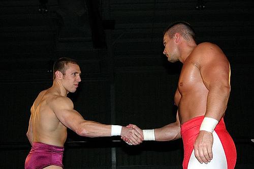 Lance Storm antes de enfrentar Bryan Danielson na ROH