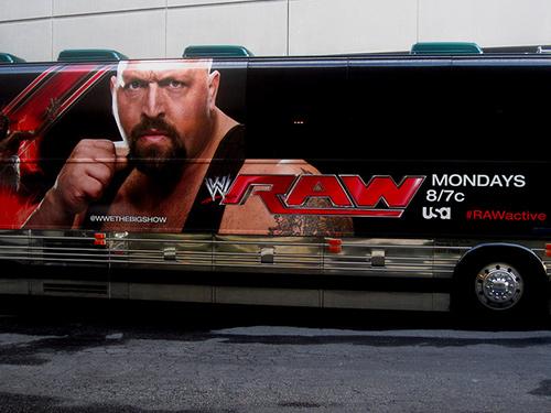Um autocarro da WWE