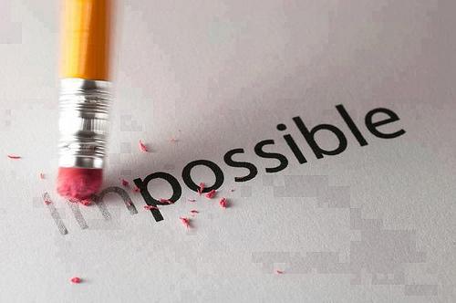 Nada é impossível, desde que dês o litro
