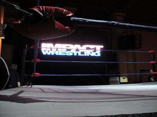 Ringue do Impact Wrestling vazio
